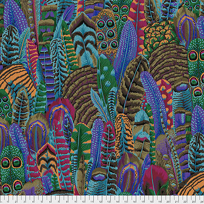 Kaffe Fassett Collective 2021: 'Feathers' Autumn: Cut to Order by the 1/2m