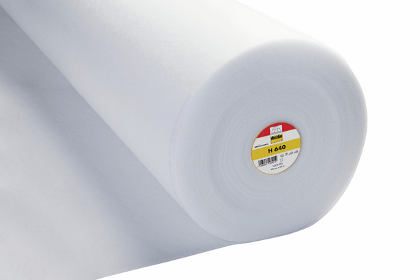 Vlieseline H640 Fusible Volume Fleece Iron-On: Sold by the Metre Fabric | Natasha Makes