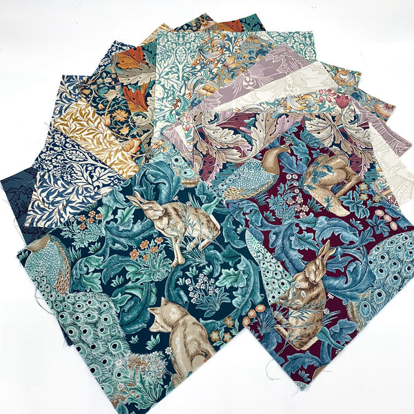 42pc William Morris Layer Cake Precuts Precuts | Natasha Makes