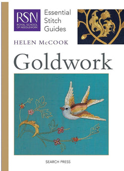 RSN Essential Stitch Guides: Goldwork by Helen McCook Books | Natasha Makes