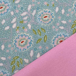Half Metre Heaven - Dena Designs: Chinoiserie Chic Jasmine with Pink