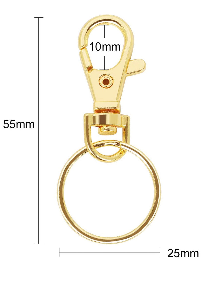 Swivel snap hook - Gold