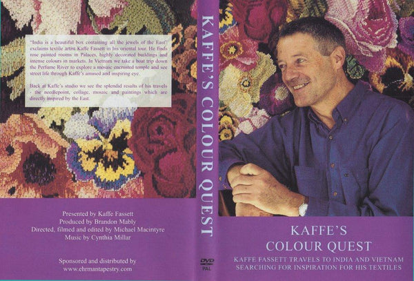 Kaffe Fassett: Colour Quest DVD