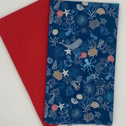 Half Metre Heaven - Lewis and Irene 'Dark Sea Creatures' with Hot Red Precuts | Natasha Makes