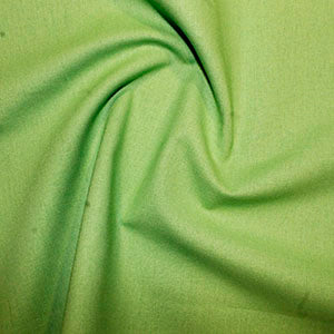 100% Cotton Plain: #59 Lime: Cut to Order by the 1/2m
