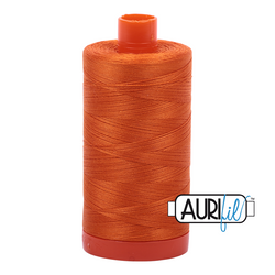 Aurifil 50 - 2150 Pumpkin Thread | Natasha Makes