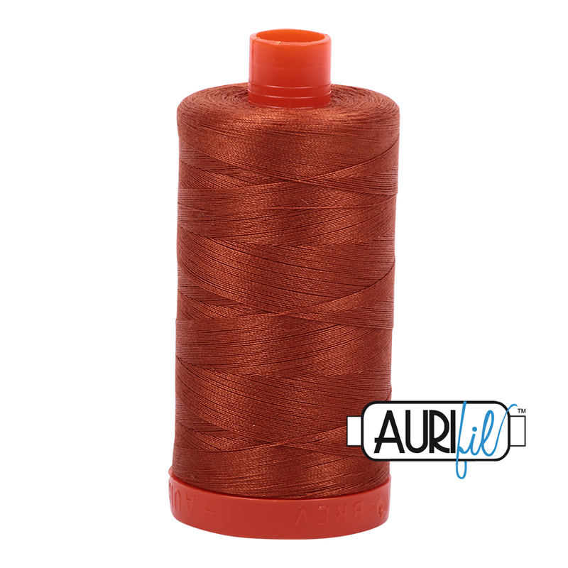 Aurifil 50 - 2390 CinnamonToast Thread | Natasha Makes