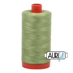 Aurifil 50 - 2882 Lt Fern Thread | Natasha Makes