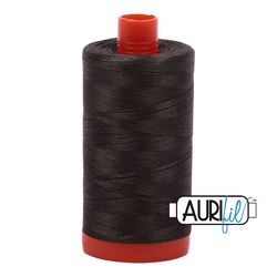 Aurifil 50 - 5013 Asphalt Thread | Natasha Makes