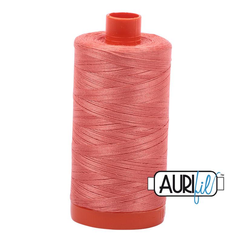 Aurifil 50 - 6729 Tangerine Dream Thread | Natasha Makes