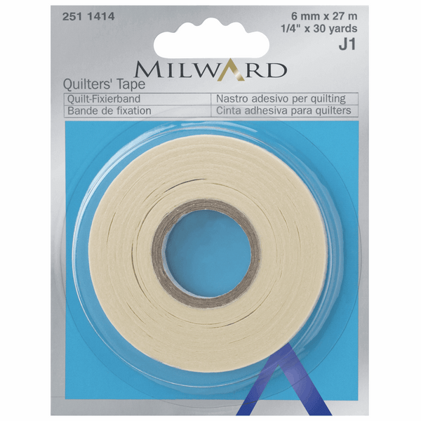 Milward Quilters' Tape: 6mm x 27m: 1 Piece Accessory | Natasha Makes