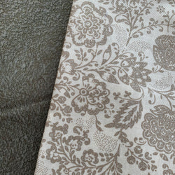 Half Metre Heaven - Moda 'Chafarcani Cream Floral' with Lichen
