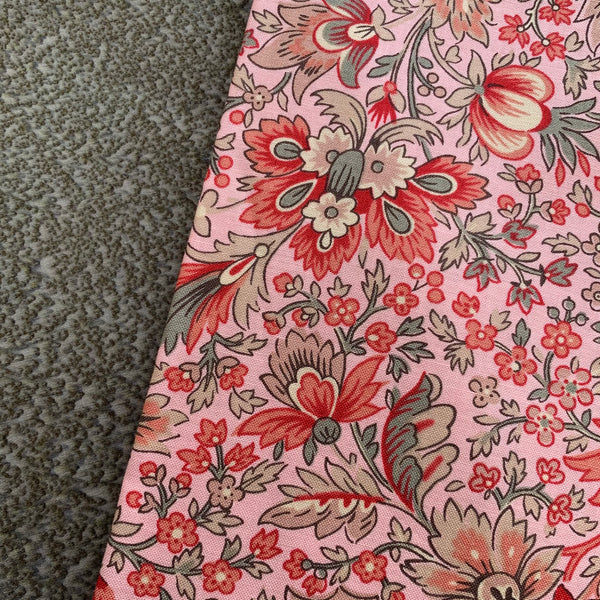 Half Metre Heaven - Moda 'Chafarcani Pink Floral' with Lichen