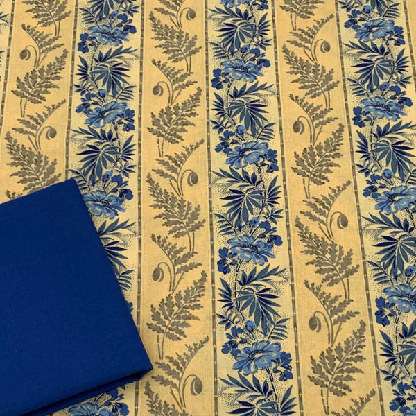 Half Metre Heaven - Moda Regency Ballycastle Chintz with Copen Blue