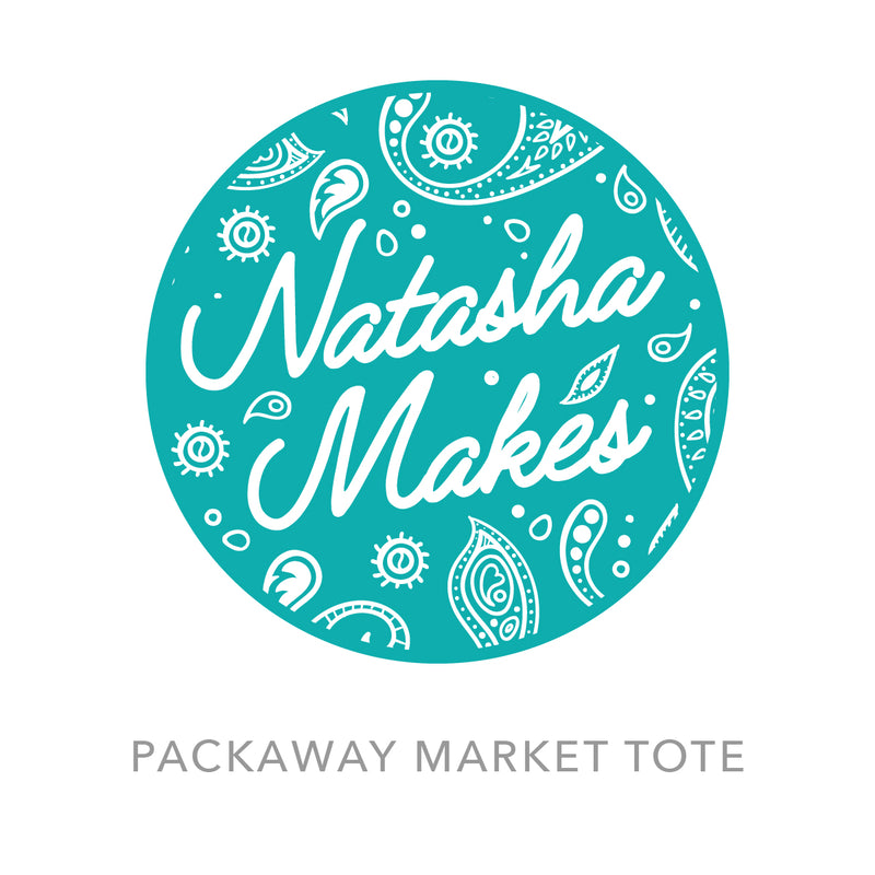 Packaway market tote instructions Instructions | Natasha Makes