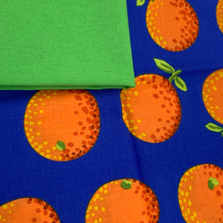 Half Metre Heaven - Kaffe Fassett Collective Oranges Orange with Lime