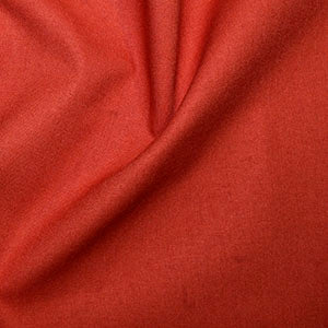 100% Cotton Plain: #20 Paprika: Cut to Order by the 1/2m