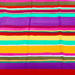 Kaffe Fassett Collective: Promenade Stripe 'Hot' 1/2m