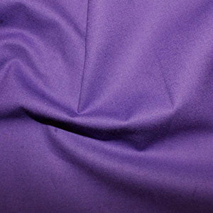 100% Cotton Plain: #40 Purple: Cut to Order by the 1/2m