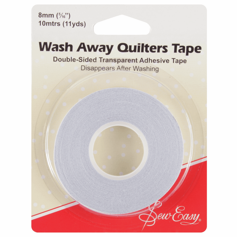 Sew Easy Tape: Quilter's: Wash-Away: 10m x 8mm Accessory | Natasha Makes