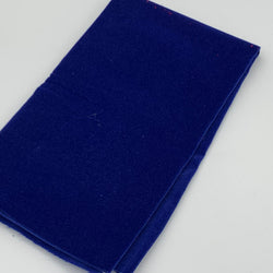 Velvet Fat Quarter: Royal Blue