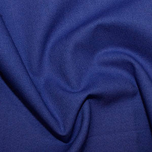 100% Cotton Plain: #51 Royal: Cut to Order by the 1/2m