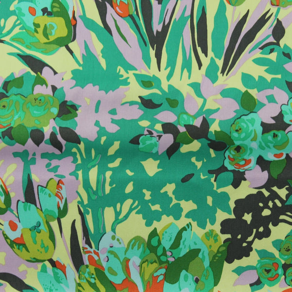 Violette Meadow Blooms SAAB0148GRAS Backing Fabric | Natasha Makes