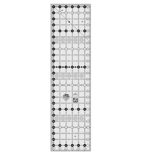 "Creative Grids Quilting Ruler 6.5"" x 24.5"" CGR24 Accessory 