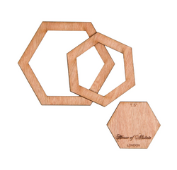 House of Alistair - English Paper Piecing Templates - Full Hexagons Accessory | Natasha Makes