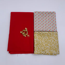 Stanley Wall Hanging Kit: Liberty 'Wish, Gold & Christmas Red'