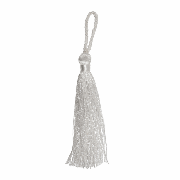 Pair of Tassels: 10cm: Cream