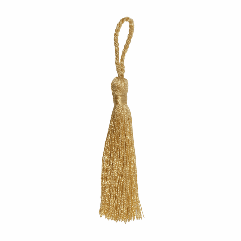 Pair of Tassels: 10cm: Gold