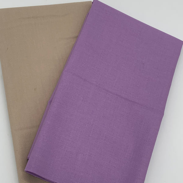 Tilda - Tonal Duo Plains Bundle: Warm Sand & Lilac