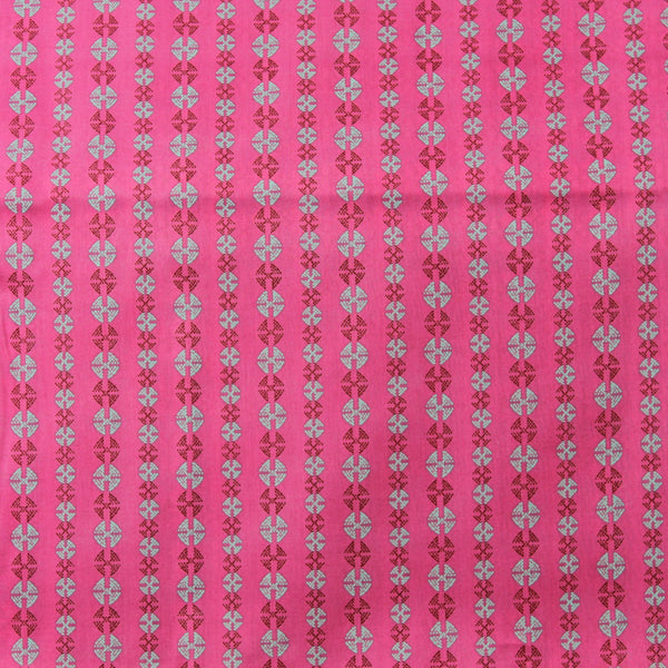 Bright Heart Stitchy Dots VOAB0238CHER Backing Fabric | Natasha Makes