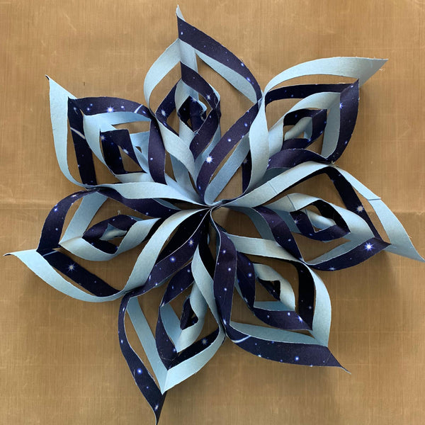 Natasha Makes Fabric Snowflake Instructions