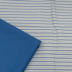 Tilda's Perfect Pairs - Cornflower with Cookie Stripe Blue
