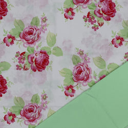 Half Metre Heaven - Tanya Whelan 'Lola Roses' White with Mint