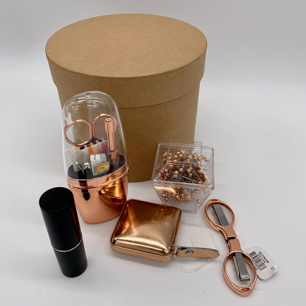 Rose Gold Christmas Gift Box
