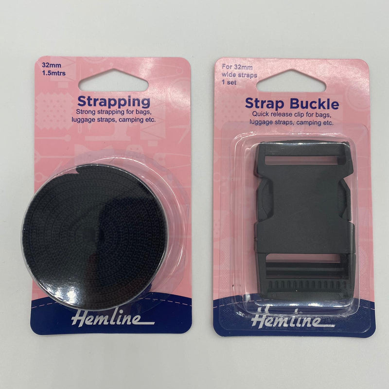 32mm Strapping & Strap Buckle DUO