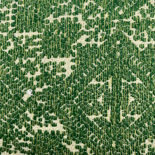 Upholstery Fabric: Green/Cream Weave, G14