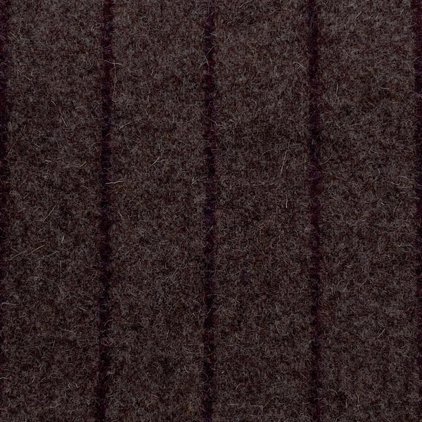 Upholstery Fabric: Brown Wool Stripe, BR12