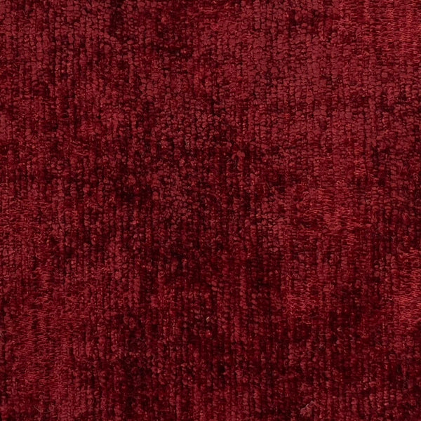 Upholstery Fabric: Red Crushed Velvet FR Treat, R12