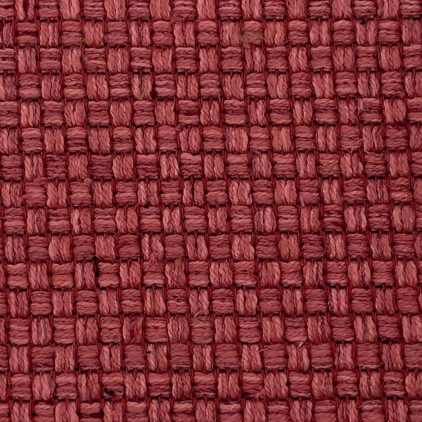 Upholstery Fabric: Pink Cross Hatch Design Flat Weave, P20