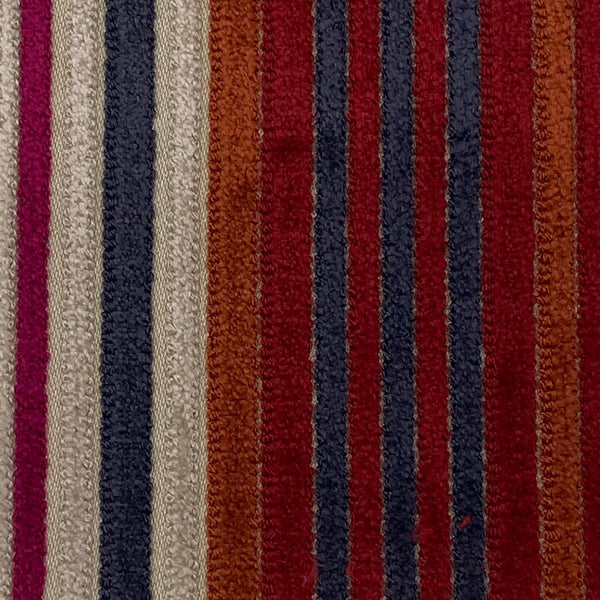 Upholstery Fabric: Multi Stripe Dralon, MU6