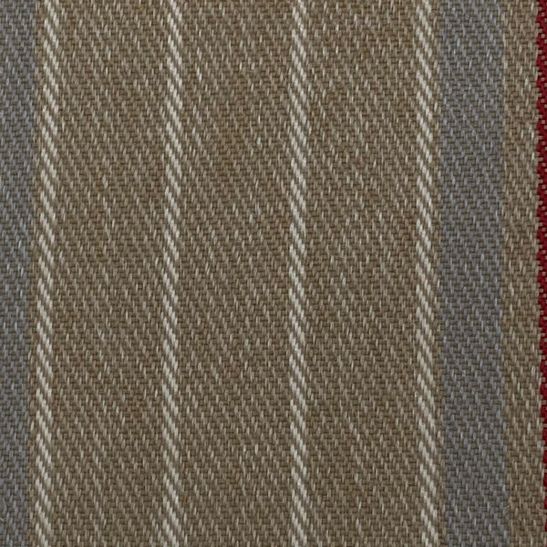 Upholstery Fabric: Multi Stripe Wool, MU12
