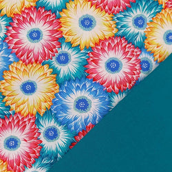 Half Metre Heaven: Kaffe Fassett Collective 'Chrysanthemum Zest' with Baltic
