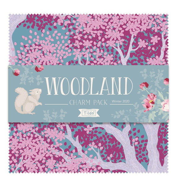 "Tilda 'Woodland' Collection 5"" Charm Pack"