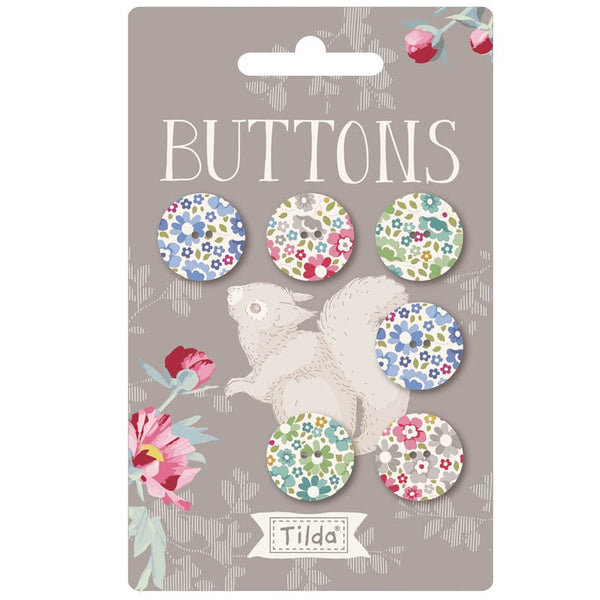 Tilda 'Woodland' Collection 18mm Buttons