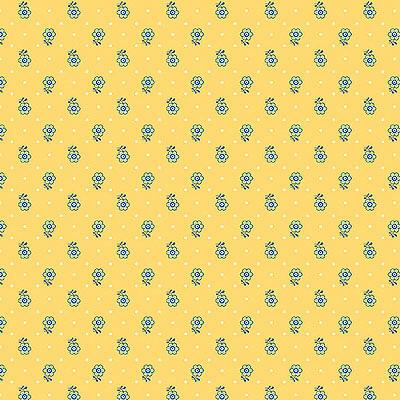 Liberty Emporium 'Kingly Sprig' Yellow 904A: Cut to Order