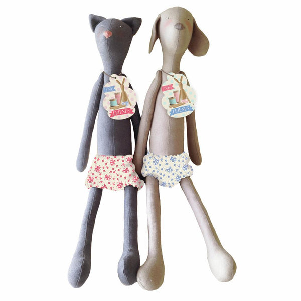 Tilda Harvest Friends: Dog: 48cm: READY MADE Toy